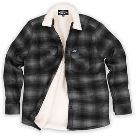 Loose Riders Flannel Jacket Men, grey